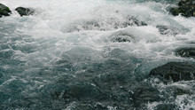 Rough Water Of Sea Surf. The W...