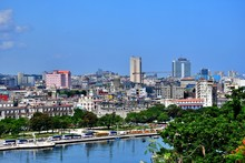 Beautiful Corners And Colorful Streets, Five Hundredth Anniversary Of Havana, From The Other Side Of The Bay