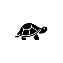 Turtle Icon, Sea Turtle Vector...