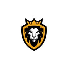 Lion Protector Logo Design Tem...