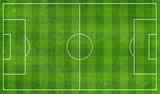 football  field top view