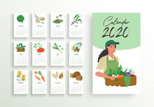 2020 Year Farmer Market Calend...