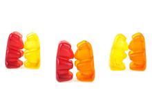 Kissing Jelly Bears. Dancing G...