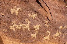 Ute Petroglyphs, Delicate Arch...