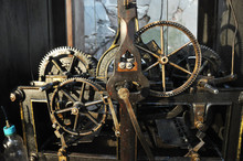 The Mechanism Of The Old Clock...