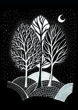 Beautiful Greeting Card Trees,...