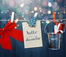 Hello December Holidays Design...