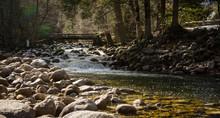 River In Yosemite Valley.