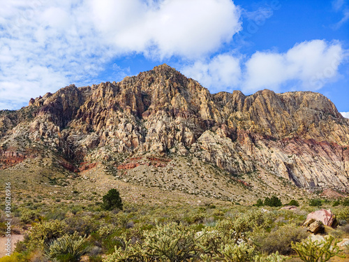 Mountain in Red Rock Canyon