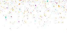 Confetti Background. Vector Il...