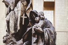 Closeup Shot Of A Religious St...