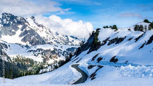 Mount Baker, Washington Slika na platnu
