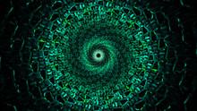Beautiful Green Vortex Dmt Concept Mushrooms Psychedelics
