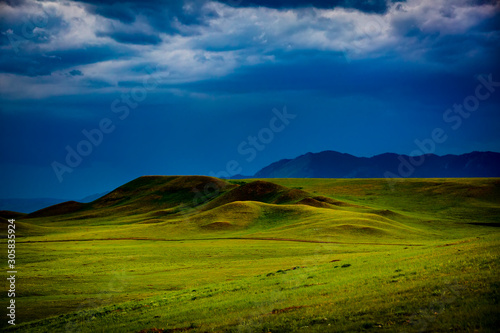 Fotografie, Tablou  The Big Hollow area of the Laramie Valley of Albany County, Wyoming