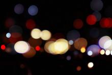 Bokeh Night Ligh Beautiful Bok...