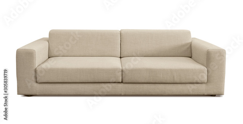 Photo Modern flax couch