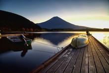 Mount Fuji From Lake Tanuki