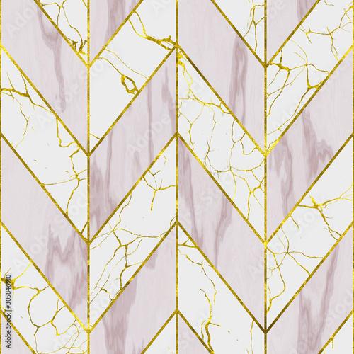 marmur-i-zlocistego-koloru-bezszwowa-tekstura-z-geometrycznym-wzorem-3d-ilustracja