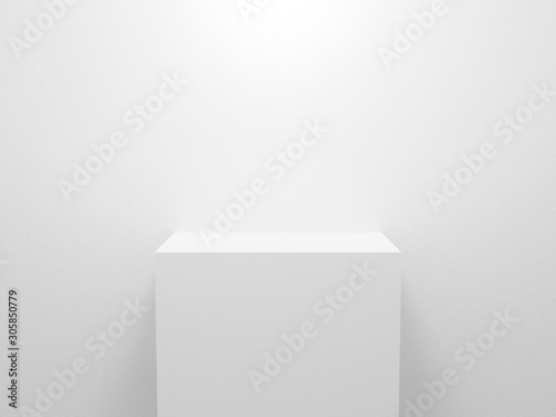 Leinwand Poster 3d exhibition stand
