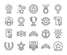 20 Awards Icons. Awards And Ac...