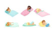 Little Children Sleeping Cover...