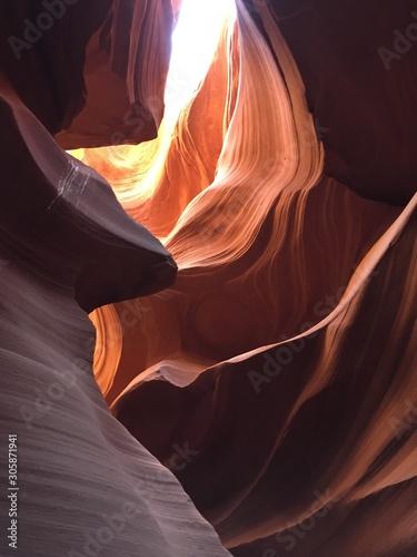 Garden Poster Antelope lower antelope slot canyon
