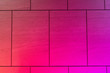Leinwanddruck Bild - カラフルにライトアップされた様々なタイル