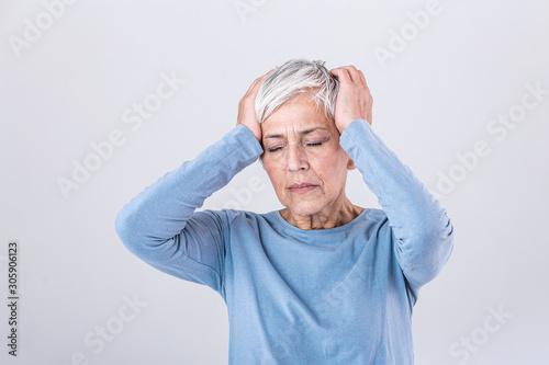 Obraz na plátně Attack of the monster migraine
