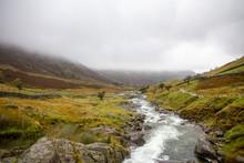 Lake District Foggy Landscape ...