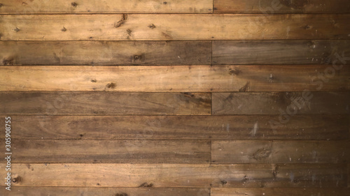 Canvastavla  rustic old wood for abstract background