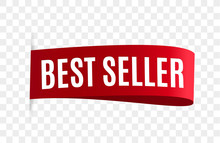 Best Seller Red Ribbon Isolated