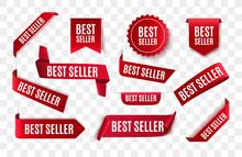 Best Seller Red Ribbon Isolate...