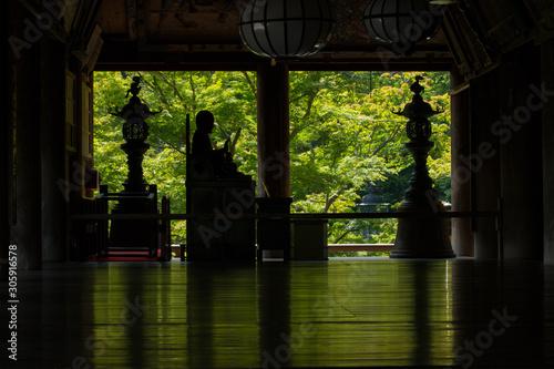 奈良 長谷寺 新緑の季節