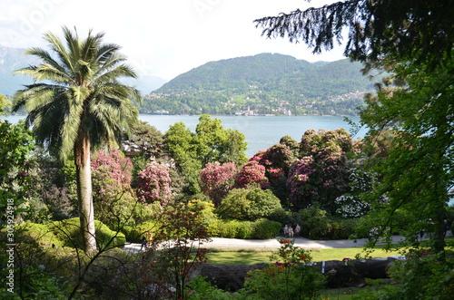 Lac de Côme depuis les jardins de la Villa Carlotta