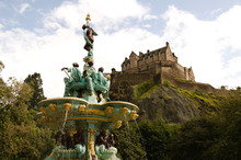 Ross Fountain And Edinburgh Ca...