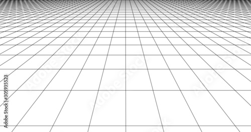 Fotomural Perspective grid line