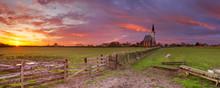 Church Of Den Hoorn On Texel I...