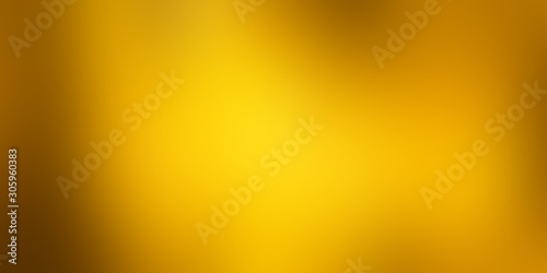 soft yellow motion gradient background Canvas Print