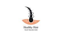 Hair Treatment Logo Vector, Ha...
