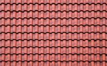 Ceramic Roof Tile Background