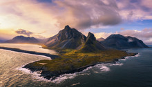 Aerial View Of The Eystrahorn ...
