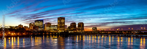 Richmond, VA skyline at daybreak