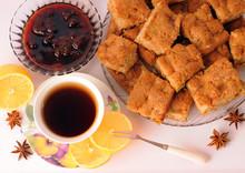 Cup Of Tea Apple Pie Lemon Strawberry Jam