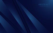 Modern Navy Blue Background Wi...