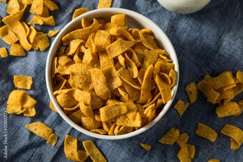 Crunchy Salt Corn Chips Wallpaper Mural
