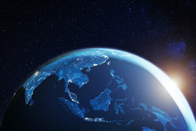 Southeast Asia From Space At N...