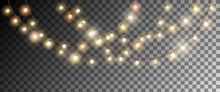 Realistic Christmas Garland On...