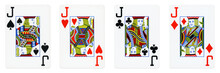 Four Jacks Playing Cards - Iso...