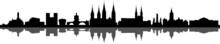 Bamberg City Skyline Vector Si...