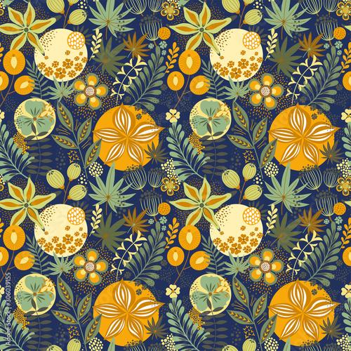 kwiatowy-wzor-na-niebiesko-abstrakcyjny